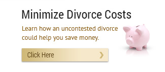 Our firm can help you to minimize the cost of your divorce